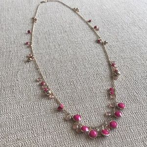 Banana Republic Crystal Bauble Necklace